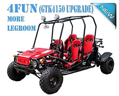 4 Seater GO KART For Family!! Smooth & Easy To Operate 150cc Go Kart Fully Automatic with Reverse - PRO TT Go Kart Honda CRF Series Clone 4 Stroke Engine