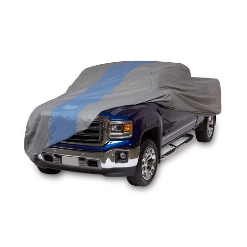 Duck Covers Defender Pickup Truck Cover for Crew Cab Long Bed Dually Trucks up to 22'