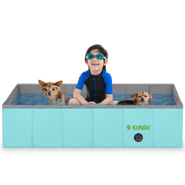 Kundu Rectangular Pool Bathing Tub