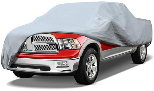 "Leader Accessories Xtreme Guard 5 Layers Pick up Truck Car Cover Waterproof Breathable Outdoor Indoor (Pick up Truck up to 20'8"")"