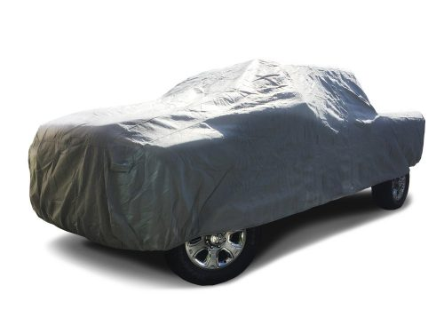 CarsCover 2006-2019 Dodge Ram 2500/3500 Crew/Mega Cab 8ft Long Bed Box Full 4 Door Truck Car Cover Heavy Duty All Weatherproof Waterproof Ultrashield