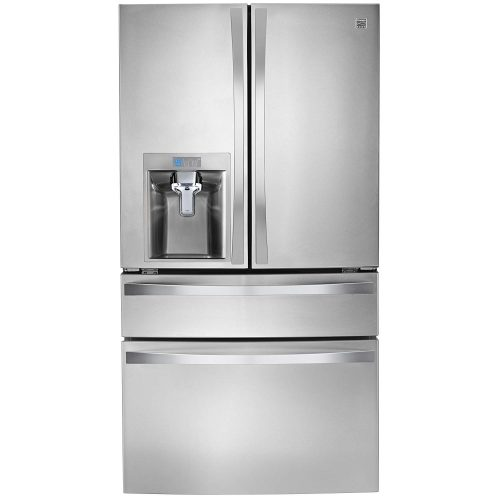 Kenmore 4672483 4 Door Bottom Freezer Refrigerator with Dispenser, 29.9 cu. ft, Stainless Steel