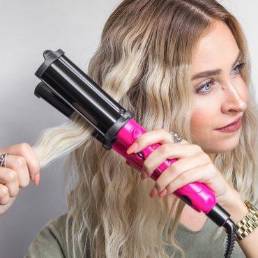 "Revlon Salon Deep Hair Waver for Long Lasting Waves, 3/4"""