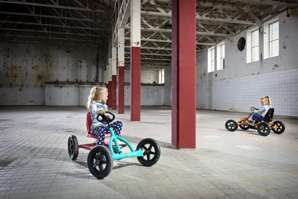 Berg Pedal Car Buddy Lua | Pedal Go Kart, Racing Go Kart, Ride On Toys for Boys and Girls, Go Kart, Outdoor Toys, Adaptable to Body Lenght, Pedal Cart, Go Cart for Ages 3-8 Years