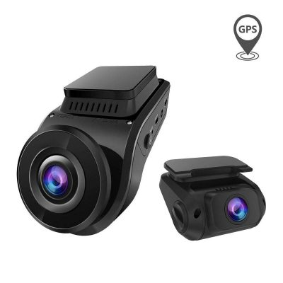 Roll over image to zoom in Vantrue S1 2160P Single Front, Dual 1080P Front and Rear Dash Cam with Built in GPS Speed, Super Capacitor, Sony Starvis Low Light Night Vision, 24hr Parking Mode, Motion Detection, Support 256GB Max