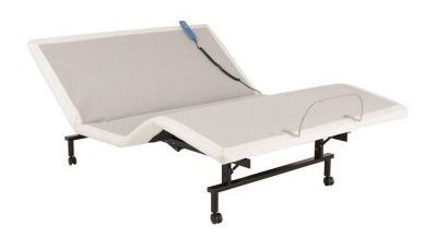 ShipShape Adjustable Bed Base with Ultra-Quiet Motor and Wired Remote, Queen