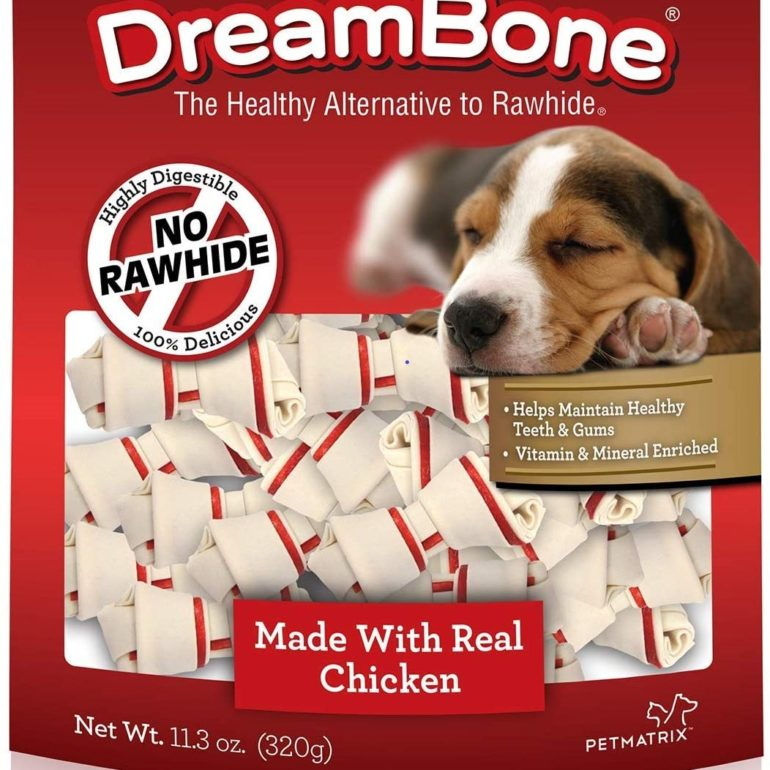 DreamBone DBK-02519 Kabobz Pet Chew (Mini-Bones; 20 Count)