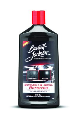 Barrett-Jackson Car Scratch Remover with a Polishing Compound for Premium Car Scratch Repair and Car Polish, 9965, 8 oz.