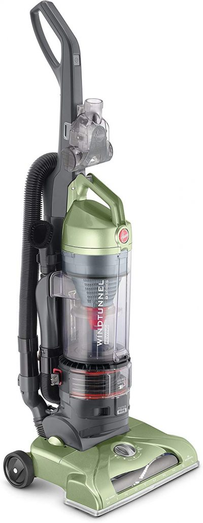 Hoover T-Series WindTunnel Rewind Plus Upright Vacuum Cleaner, with HEPA Media Filtration, Lightweight and Corded, UH70120, Green