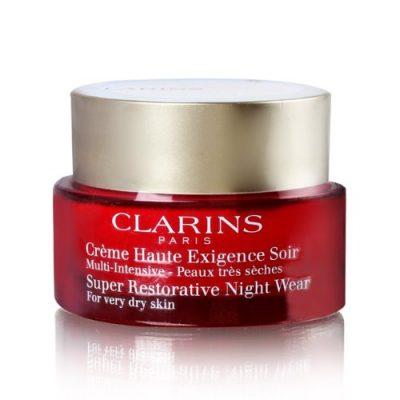 Super Restorative Night - All Skin Types by Clarins for Unisex - 1.6 oz Night Cream