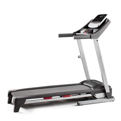 ProForm Fit 425 iFit Folding 10 MPH Incline Running Exercise Treadmill for Homes and Gyms with HD Display and EKG Pulse Grips