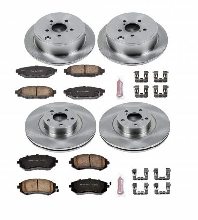Autospecialty (KOE4077) Daily Driver OE Brake Kit, Front and Rear