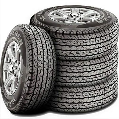 Set of 4 (FOUR) MRF Wanderer A/T All-Terrain Radial Tires-265/60R18 110T