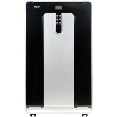 Haier HPND14XHT 14, 000 BTU 115V Dual-Hose Portable Air Conditioner with 10, 000 BTU Heat Mode