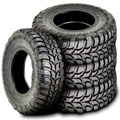 Set of 4 (FOUR) Crosswind M/T Mud Tires-30X9.50R15LT 104Q LRC 6-Ply