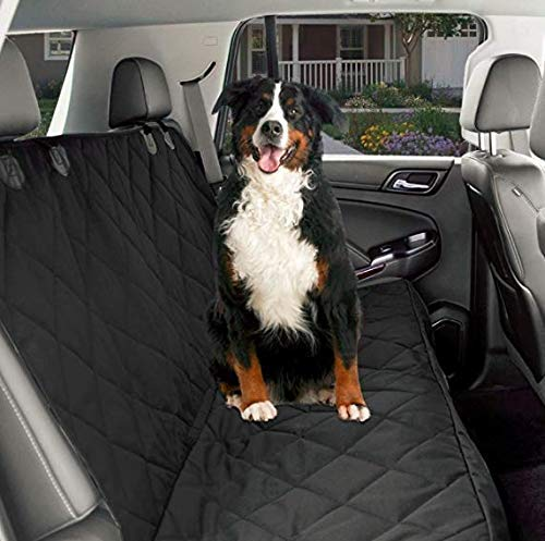 CPG DOTS Pet Seat Cover for Cars, Waterproof & Nonslip Backing with Anchors, Quilted, Padded, Durable Pet Seat Covers for Cars, Trucks & SUVs
