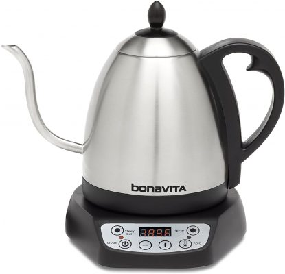 It is an adjustable kettle you can use to prepare a wide range of teas. Features such as the gooseneck design make it very reliable in your everyday use.