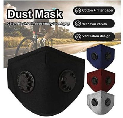 Clearance Face Protection, Anti-Pollution Mouth Dust Protection Reusable Washable Face clothes Anti-Smog for Horse Riding