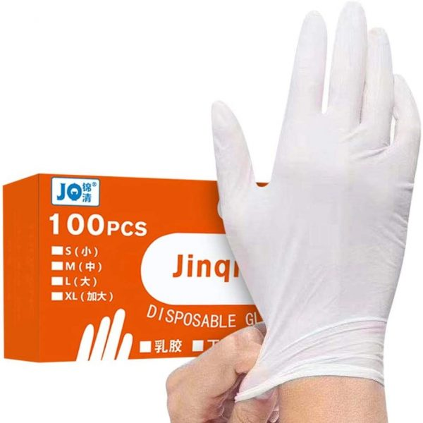 JoCome 🌟 100 Pcs Nitrile Disposable Gloves Powder Free Rubber Latex Free Medical Exam Gloves Non Sterile Ambidextrous Comfortable Industrial...