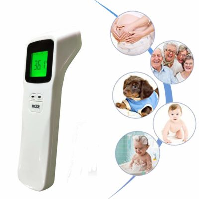 2020[Upgrade] Digital Infrared Forehead Thermometer No-Touch Thermometer,˚C / ˚F Adjustable with Fever Alert Function and Large LCD Instant Read for Baby and Adult.- CE and FCC Approved