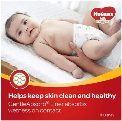 Huggies Little Snugglers Baby Diapers, Size 1, 96 Ct