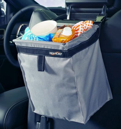 High Road TrashStash Leakproof Car Trash Bag with Hinged Closure