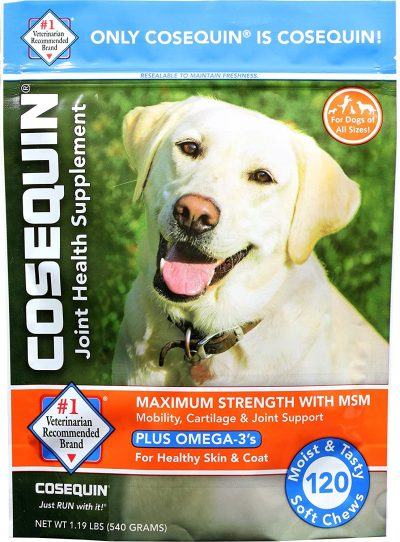 Cosequin Soft Chews with MSM and Omega-3s, 120 ct
