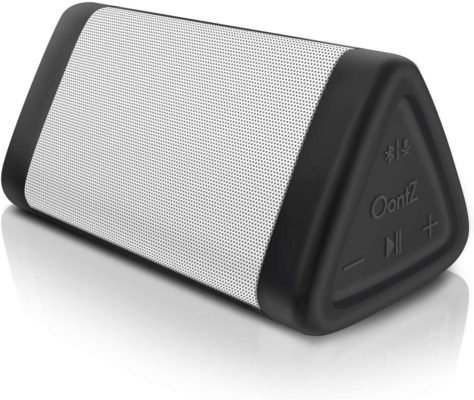 OontZ Angle 3 (3rd Gen) Portable Bluetooth Speaker, Louder Crystal Clear Stereo Sound, Rich bass, 100 Ft Wireless Speaker Range, IPX5, Bluetooth Speakers by Cambridge SoundWorks (White)