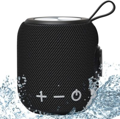 Portable Bluetooth Speaker,SANAG Bluetooth 5.0 Dual Pairing Loud Wireless Mini Speaker, 360 HD Surround Sound & Rich Stereo Bass,12H Playtime, IPX6 Waterproof for Travel, Outdoors, Home and Party