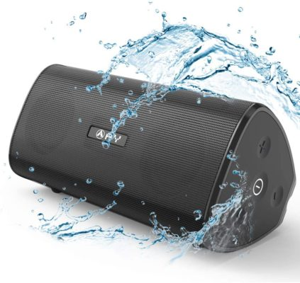 AY Portable Wireless Bluetooth 5.0 Speakers 30W with HD Stereo Sound, Extra Bass, Waterproof IPX7, TWS Technology, Built in Mic, 24H Playback, Perfect for Camping, Outdoors, Party.