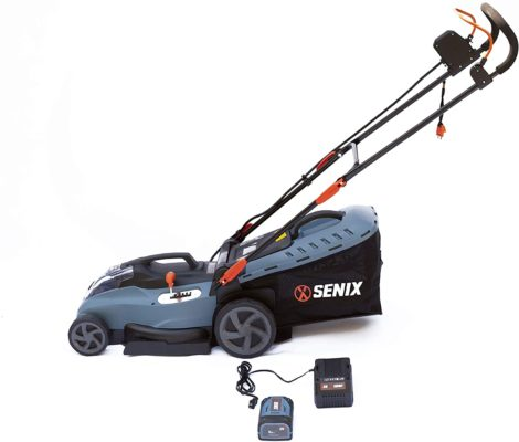 SENIX LPPX5-L X5 Cordless Mower, Blue