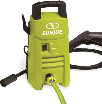 Sun Joe SPX201E 1350 PSI 1.45 GPM 10-Amp Electric Pressure Washer, Green (Renewed)