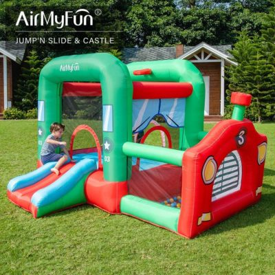 Inflatable Kids Bounce Houce Toddler Bouncy Castle with Air Blower for Kids Outdoor Party