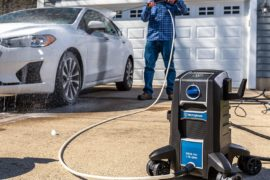 Westinghouse ePX3000 Electric Pressure Washer 2030 Max PSI 1.76 Max gal/min with Anti-Tipping Technology, Soap Tank and 4-Nozzle Set