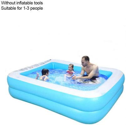 Inflatable Pool Family Paddling Pool Swimming Pool Bath Tub for Kids Toddlers Adults