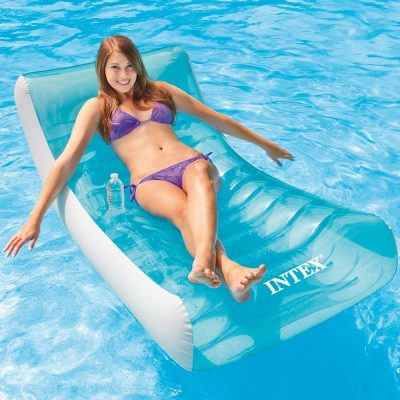 "Intex Rockin' Inflatable Lounge, 74"" X 39"""