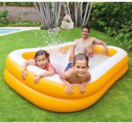 "Intex Mandarin Swim Center Family Pool, 90"" x 58"" x 18"", for Ages 3+"