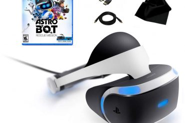PlayStation VR Astro Bot Rescue Mission Bundle (Renewed) / Includes PSVR Headset and Processor Unit, AstroBot Rescue Mission, KWALICABLE™ Accessory Pack