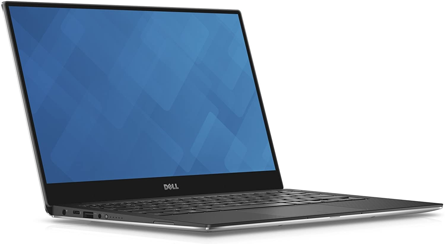 "Dell XPS 13 9360 13.3"" QHD+ Touch Laptop 8th Gen Intel Core i7-8550U 16GB RAM 256GB SSD Machined Aluminum Display Silver Win 10"