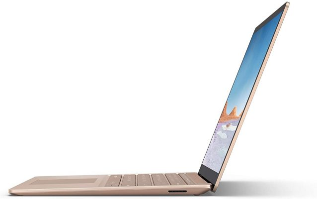 """Microsoft Surface Laptop 3 – 13.5"""" Touch-Screen – Intel Core i7 – 16GB Memory - 256GB Solid State Drive (Latest Model) – Sandstone, (Model: VEF-00064)"""