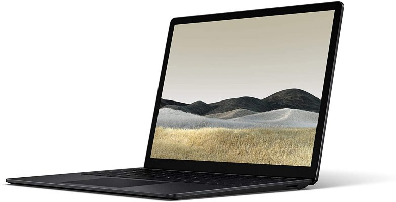 """Microsoft Surface Laptop 3, 13.5"""" Touch-Screen, Intel Core i7, 16GB Memory, 256GB Solid State Drive (Latest Model), Matte Black"""