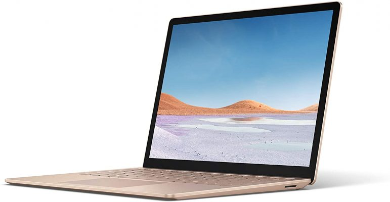 """Microsoft Surface Laptop 3 – 13.5"""" Touch-Screen – Intel Core i5 - 8GB Memory - 256GB Solid State Drive (Latest Model) – Sandstone"""