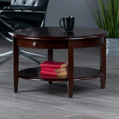 Winsome Wood Concord Occasional Table, Antique Walnut